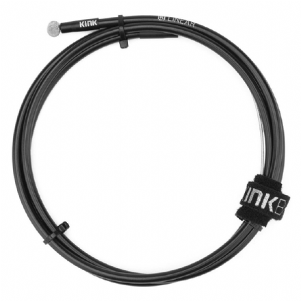 Kink Linear Cable With Velcro Strap - Black